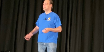 RISC-V co-creator Krste Asanovic at the RISC-V Summit.