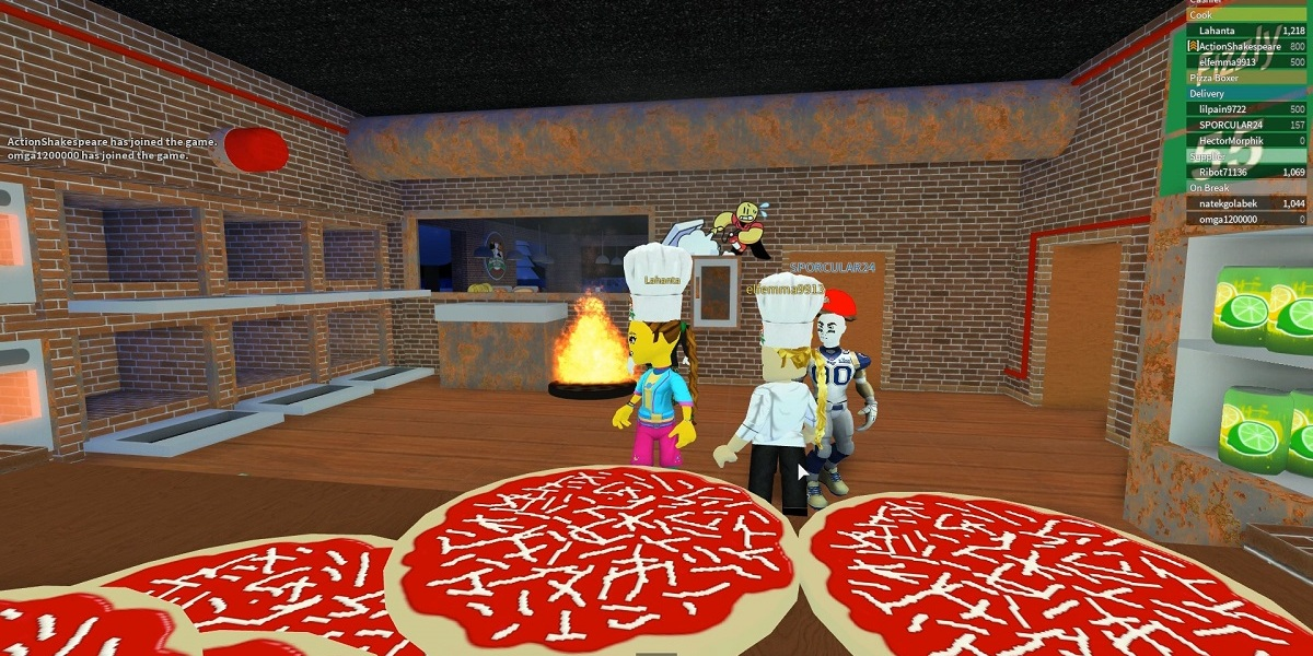 Work at a Pizza Place has been played 1.9 billion times.