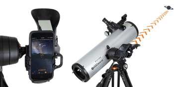 Celestron's StarSense Explorer brings telescope optics to smartphones