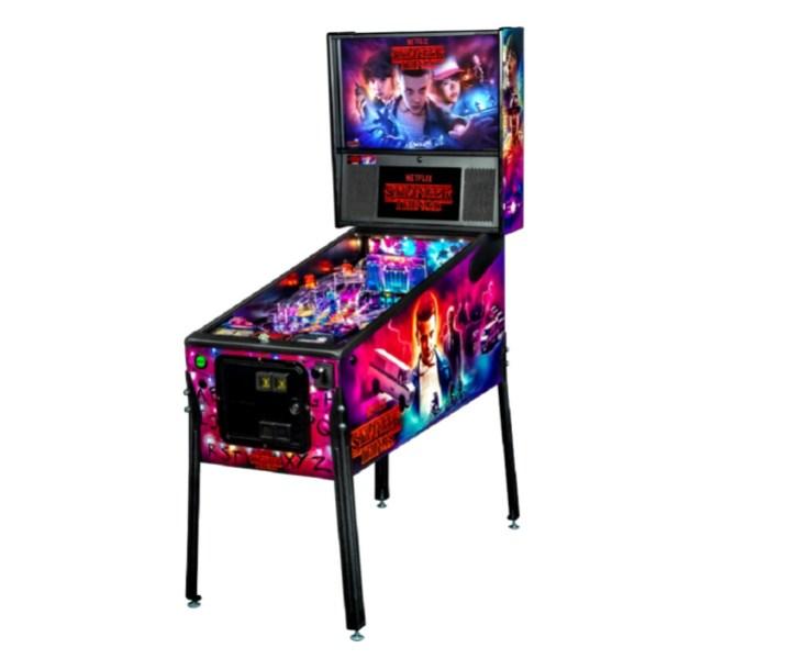 Stern Pinball's Stranger Things pinball machine.