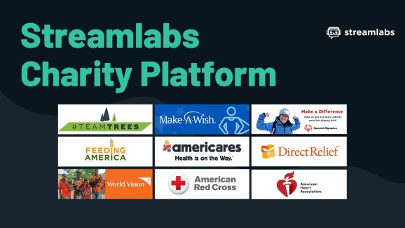 Streamlabs is launching a charity platform for streamers.