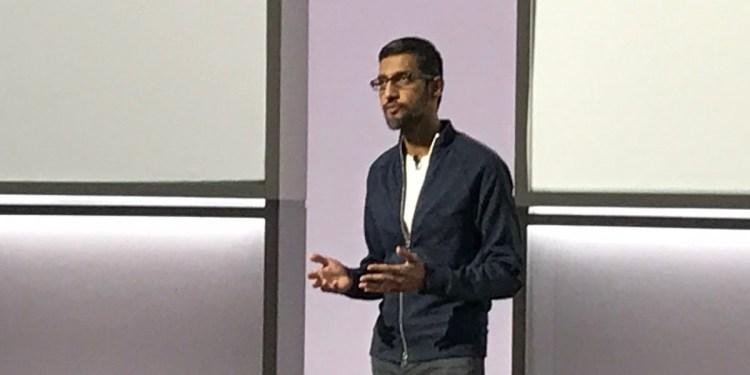 Alphabet CEO and Google CEO Sundar Pichai