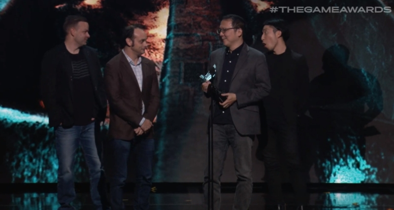 Sekiro takes the Game of the Year.