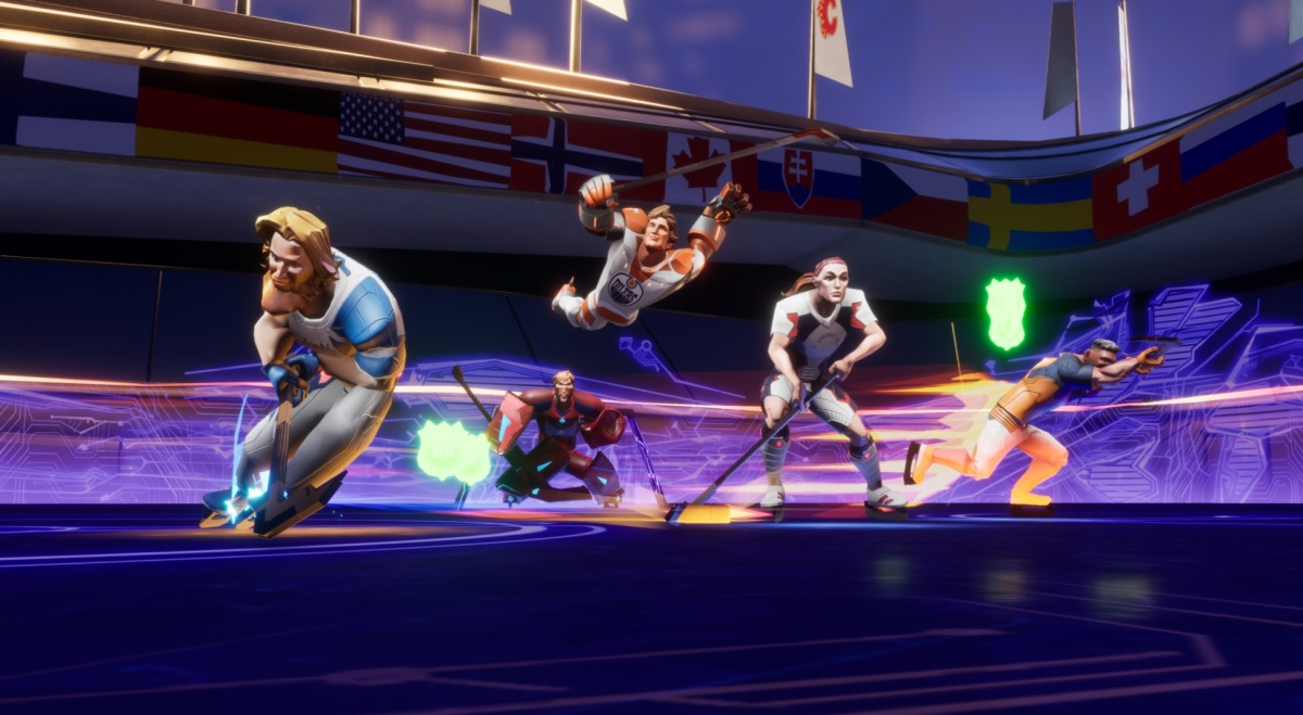 Ultimate Rivals: The Rink hockey game debuts on Apple Arcade with celebrity athletes