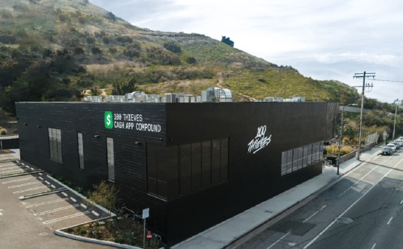 100 Thieves Cash App Compound in Los Angeles, the esports capital.