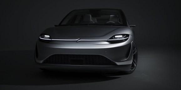 """Sony's prototype autonomous vehicle, """"Vision-S"""""""