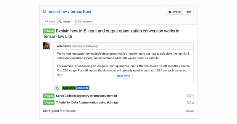 GitHub now uses AI to recommend open issues in project repositories