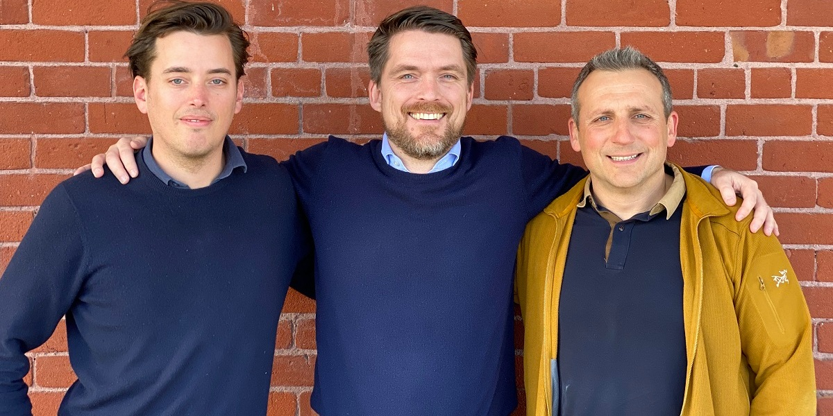 Gabi founders (left to right): Klemm, Hanno Fitchner, and