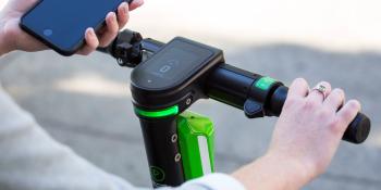 Lime uses sensor data to keep scooters off sidewalks