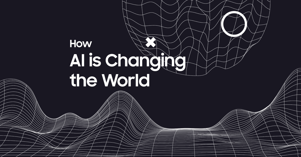 AI today and the world tomorrow
