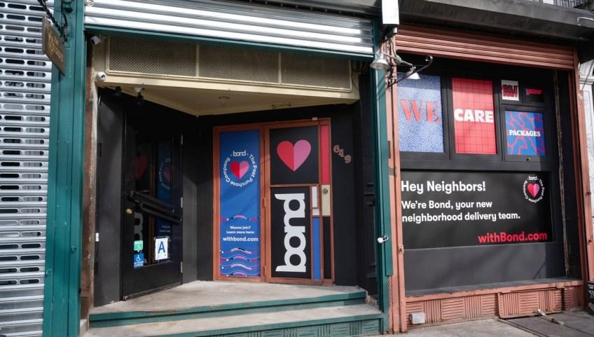Storefront - Bond raises $15 million to bring last-mile deliveries and nano distribution centers to online retailers
