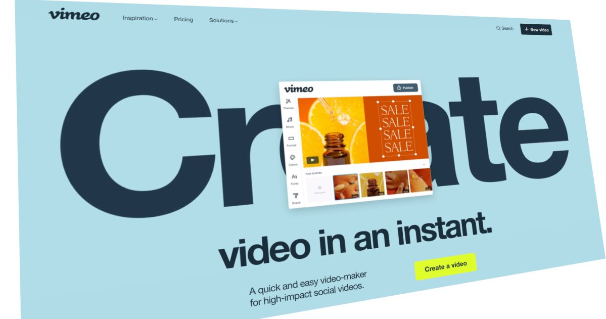Vimeo launches short-form social video editing platform powered by Magisto