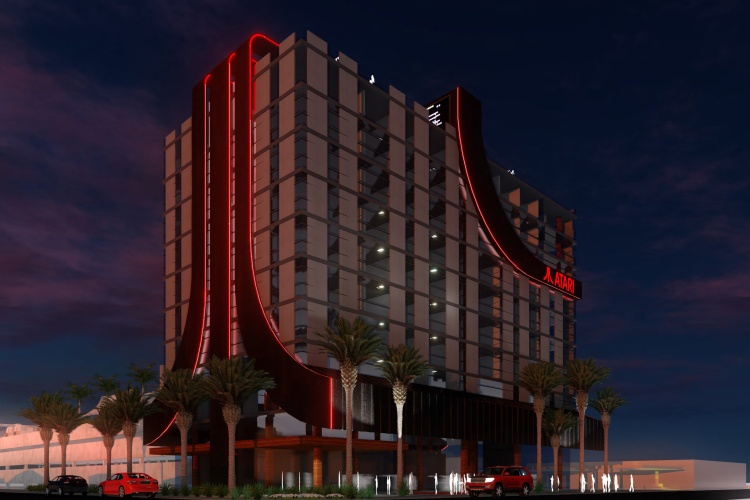 The Atari hotel is happening, apparently.