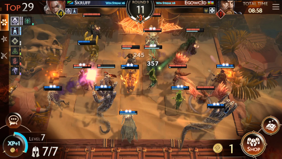 Might & Magic: Chess Royale combines autobattler mechanics with battle royale.