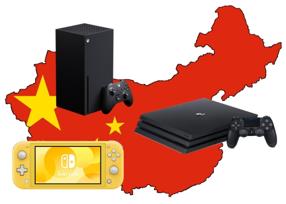 Switch, PlayStation, and Xbox devices all come from China.