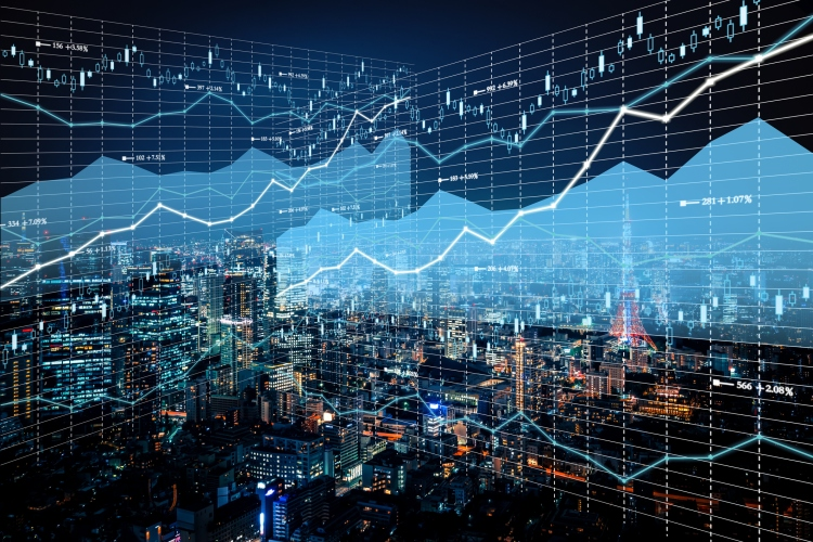 Graph, Digital Display, Stock Market Data, Bank Account, Chart