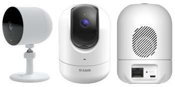 D-Link security cameras get edge AI to detect glass breaks and people