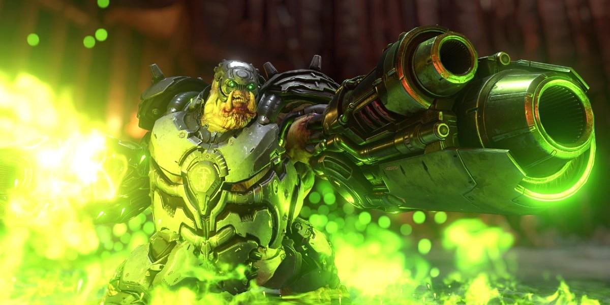 Doom Eternal has plenty of green goo.