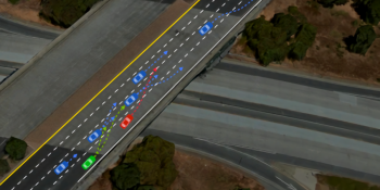 Apple researchers train AI drivers to merge lanes in a simulated environment