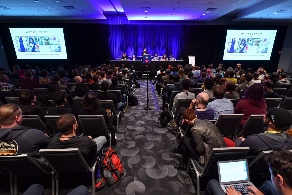 GDC 2019's #1ReasonToBe panel.