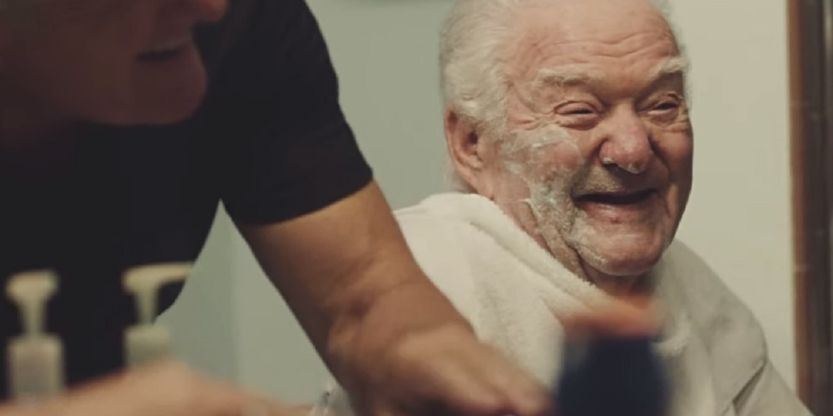 Gillette designed its Treo for caregivers to shave elderly people.