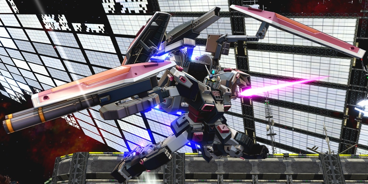 Full armor in Mobile Suit Gundam Extreme vs. Maxiboost On