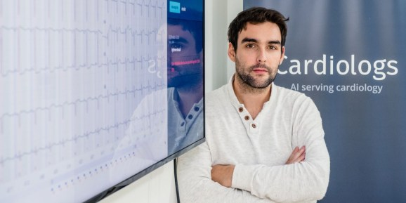 Cardiologs cofounder and CEO Yann Fleureau