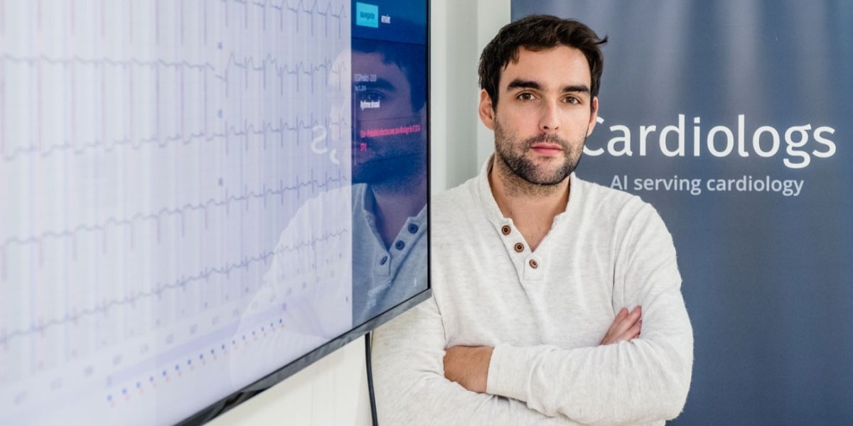 Cardiologs cofounder and CEO Yann Fleureau