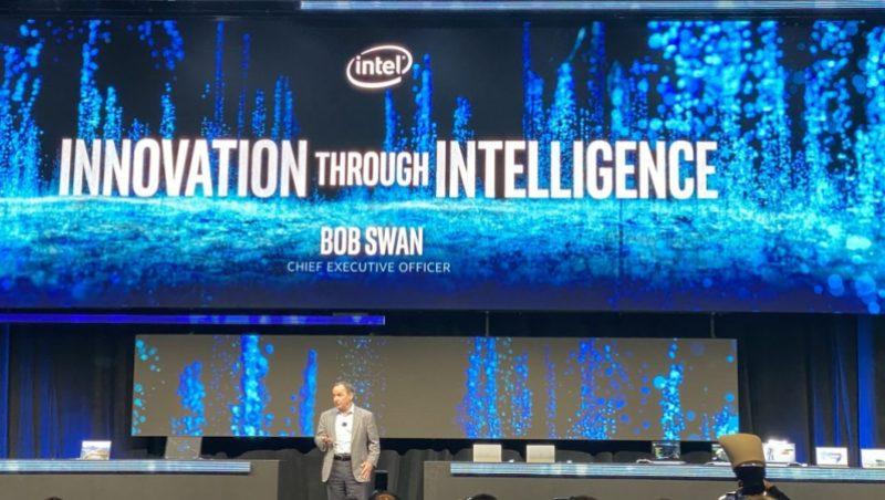 Intel CEO Bob Swan at CES 2020.