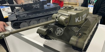 Ironbull makes remote-controlled smart tanks that shoot BBs at each other