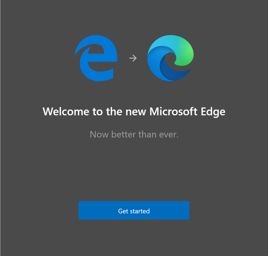 Legacy Edge to Chromium Edge