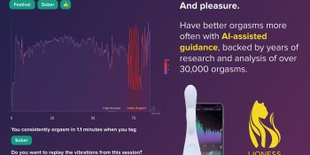 Lioness uses AI guidance to help improve orgasms.