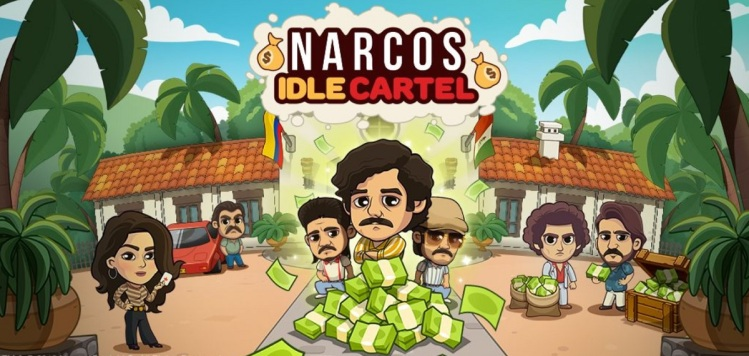 Narcos: Idle Cartel is based on a popular Netflix crime drama.