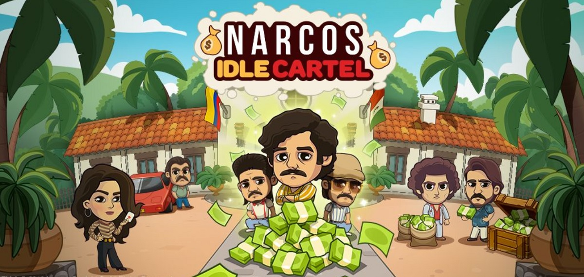 Narcos: Idle Cartel is based on a popular Netflix crime drama.