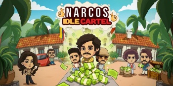 Narcos: Idle Cartel is a collaboration between Tilting Point, Gaumont, and Big Wolf Games