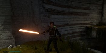 Star Wars Jedi: Fallen Order patch unlocks orange lightsabers for everyone