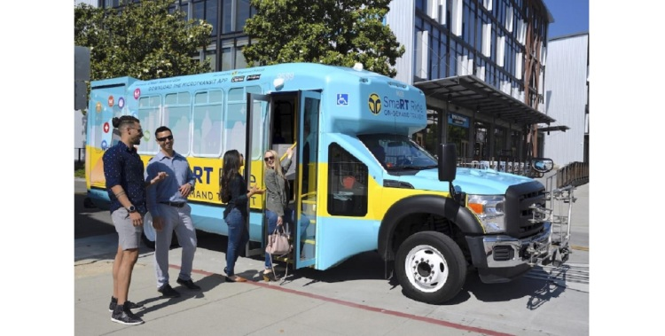 Via and SacRT are teaming up to provide on-demand public transit.