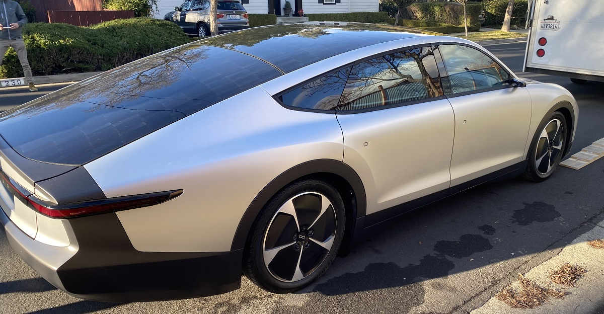 photo of Lightyear One: Hands-on with a solar-powered car with 440-mile range image