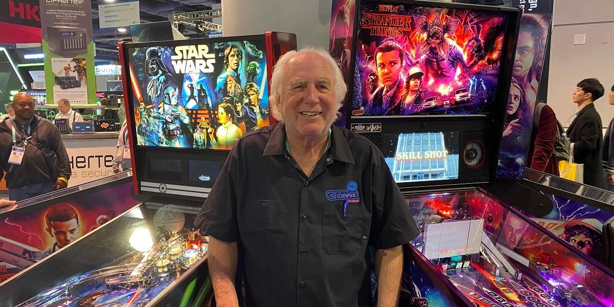 Gary Stern is CEO of Stern Pinball.