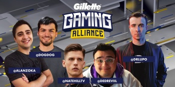 Gillette and Twitch round up esports influencers in gaming alliance