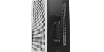 NZXT's H1 mini-ITX case is attractive, quiet, and a simple build