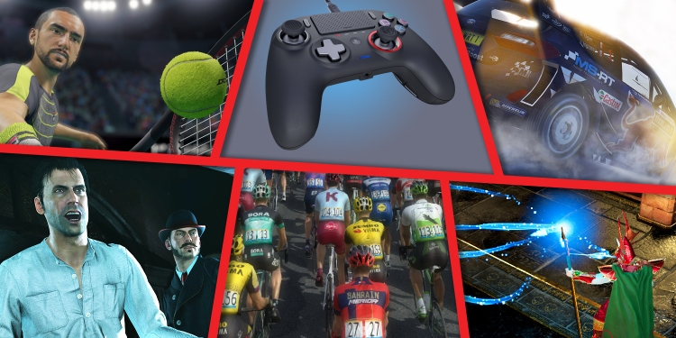 Nacon's portfolio includes games for many people: sports, RPGs, mysteries, and more. Even controllers.
