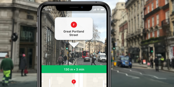 """Moovit's new AR-powered """"way finder"""" feature lands on iPhone"""