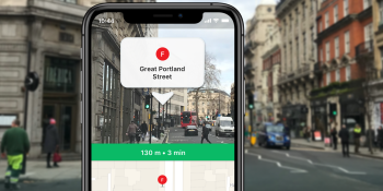 Moovit adds AR navigation to its urban transport app