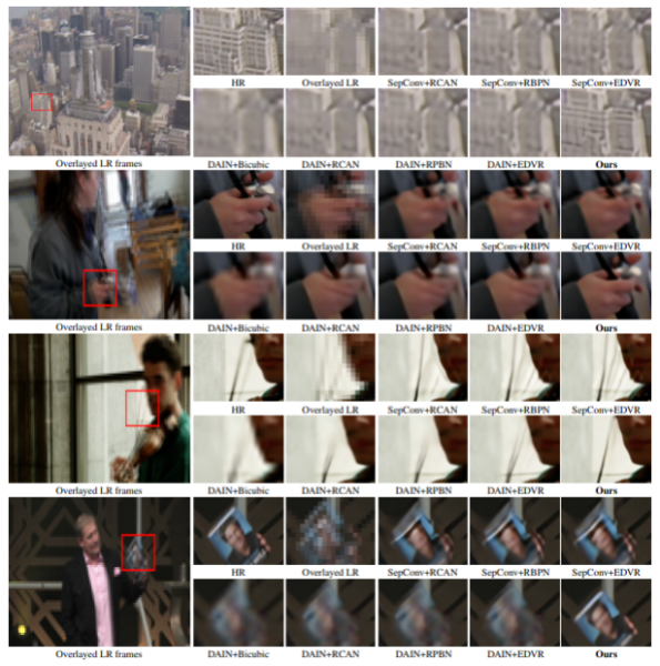 AI high-resolution slow-motion video