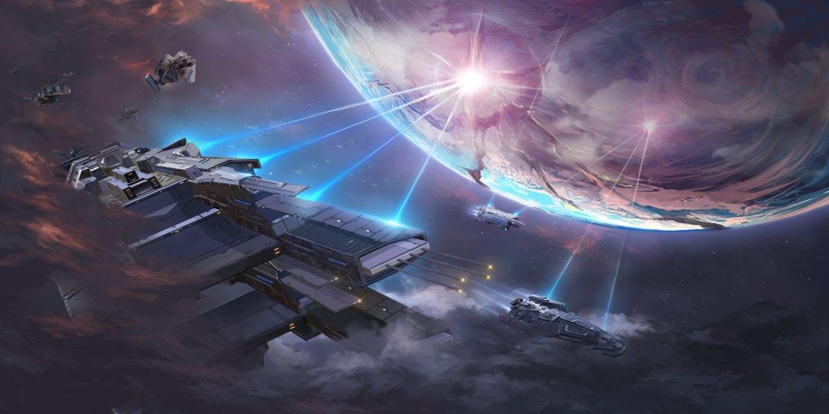Stellaris: Galaxy Command.