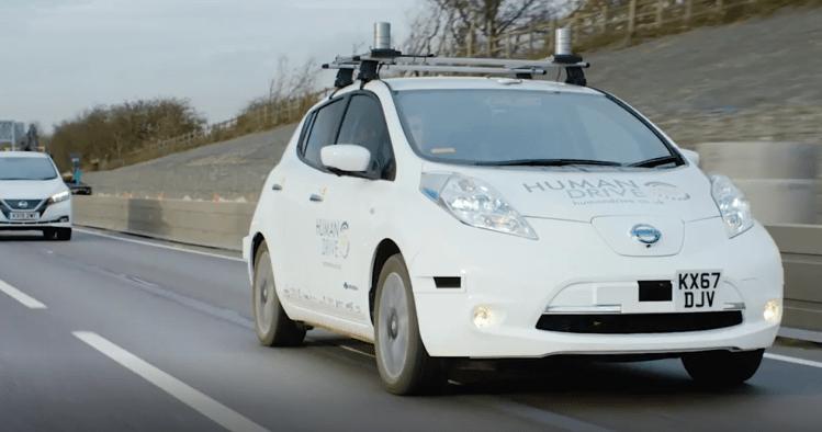 Nissan-led HumanDrive achieved a major milestone as it completed a 230 mile autonomous journey across the UK
