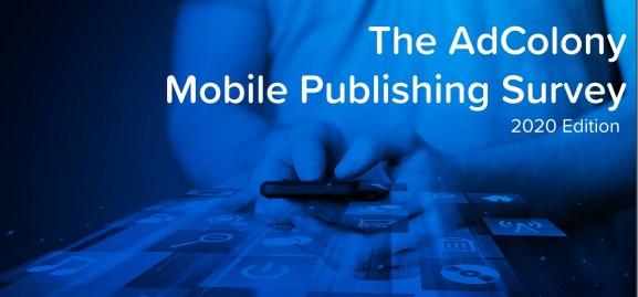 AdColony's Mobile Publishing Survey measures revenue sources.
