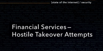 Akamai has detected a lot of financial services cyberattacks.