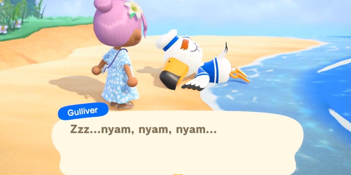 Animal Crossing: New Horizons.